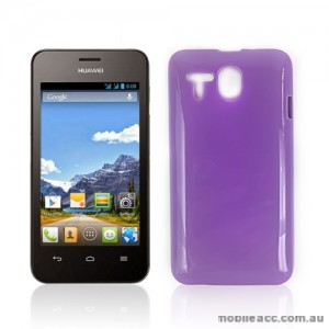TPU Gel Case Cover for Huawei Ascend Y320 - Purple