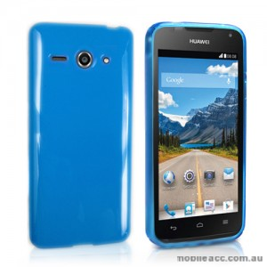 TPU Gel Case Cover for Huawei Ascend Y530 - Blue