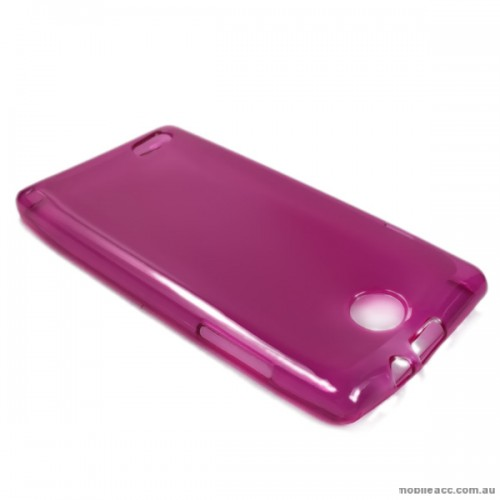 pretty nice 80ddf b37f1 Telstra Tempo T815 TPU Gel Case Cover - Hot Pink