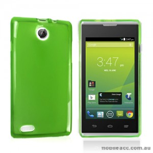 Telstra Tempo T815 TPU Gel Case Cove - Green X2