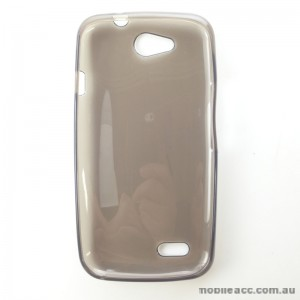TPU Gel Case for Telstra 4GX Buzz Smoke Black