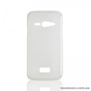 2X TPU Gel Case for Telstra Tough Max T84 Clear