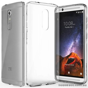 TPU Gel Case Cover For ZTE Axon 7 Mini  × 2- Clear
