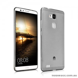 Huawei Ascend Mate 7 TPU Gel Case Cover - Smoke Black