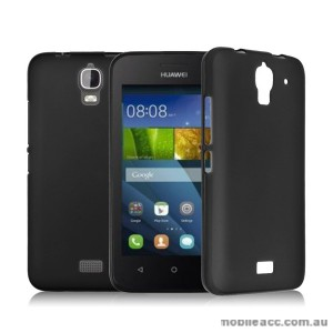 TPU Gel Case Cover for Huawei Ascend Y360 - Black
