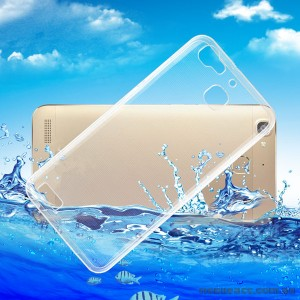 Clear Soft TPU Back Case for Huawei GR3 / G8 Mini