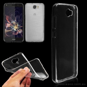 TPU Gel Case Cover For Huawei Y7 - Ultra Clear