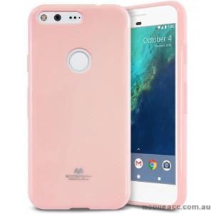 Korean Mercury Pearl iSkin TPU For Google Pixel - Baby Pink