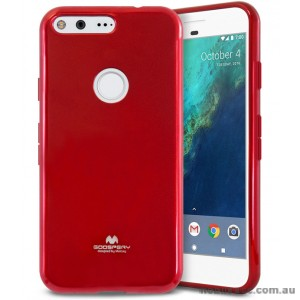 Korean Mercury Pearl iSkin TPU For Google Pixel - Red