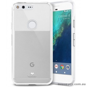Korean Mercury Pearl iSkin TPU For Google Pixel XL - Clear X2