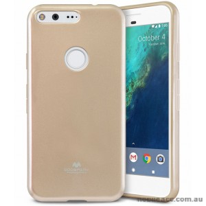 Korean Mercury Pearl iSkin TPU For Google Pixel XL - Gold X2