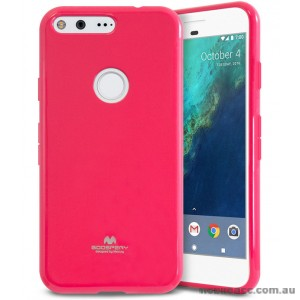 Korean Mercury Pearl iSkin TPU For Google Pixel XL - Hot Pink X2