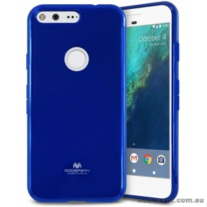 Korean Mercury Pearl iSkin TPU For Google Pixel XL - Royal Blue X2