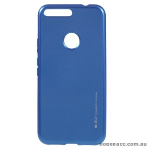 Mercury Goospery iJelly Gel Case For Google Pixel - Blue
