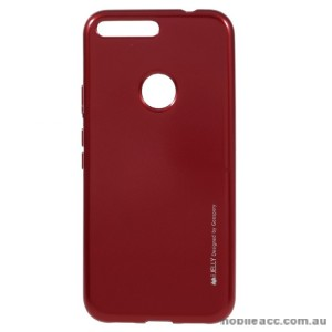 Mercury Goospery iJelly Gel Case For Google Pixel - Red