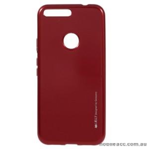 Mercury Goospery iJelly Gel Case For Google Pixel XL - Red