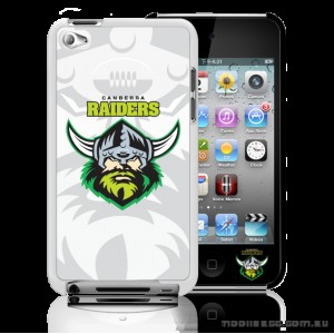 NRL Licensed Canberra Raiders Watermark Back Case for iPod Touch 4