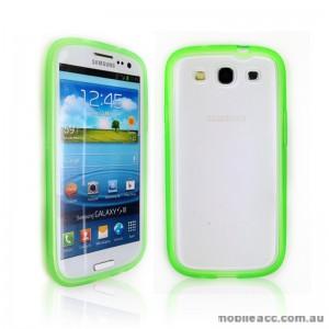 TPU   PC Case for Samsung Galaxy S3 i9300 - Green