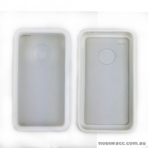 TPU PC Case Cover for iPhone 4 / 4S - White