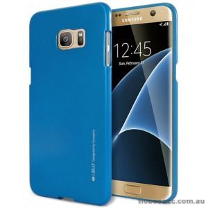 Mercury Goospery iJelly Gel Case For Samsung Galaxy S7 Edge - Royal Blue