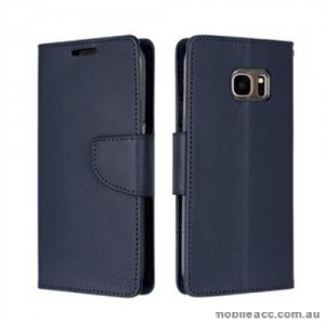 Korean Mercury Bravo Diary Wallet Case For Samsung Galaxy Note 7 - Navy