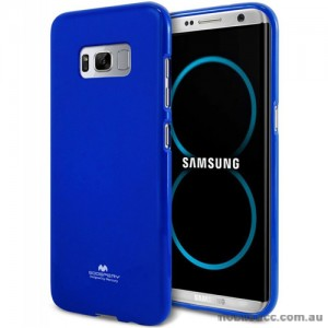 Mercury Pearl TPU Jelly Case for Samsung Galaxy S8 Plus Royal Blue