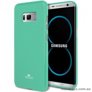 Mercury Pearl TPU Jelly Case for Samsung Galaxy S8 Plus Mint Green
