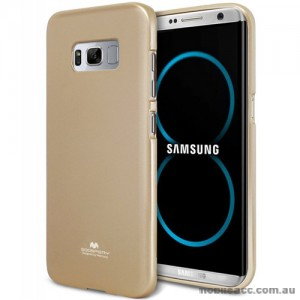 Mercury Pearl TPU Jelly Case for Samsung Galaxy S8 Plus Gold