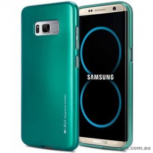 Mercury Goospery iJelly Gel Case For Samsung Galaxy S8 Plus Green