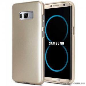 Mercury Goospery iJelly Gel Case For Samsung Galaxy S8 Plus Gold