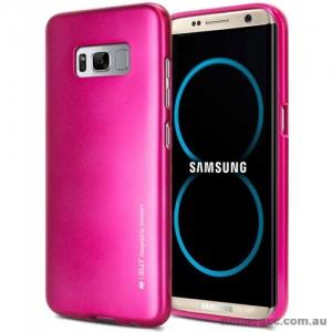 Mercury Goospery iJelly Gel Case For Samsung Galaxy S8 Plus Hot Pink