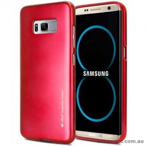 Mercury Goospery iJelly Gel Case For Samsung Galaxy S8 Plus Red