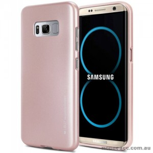 Mercury Goospery iJelly Gel Case For Samsung Galaxy S8 Plus Rose Gold