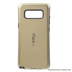iFace Back Cover for Samsung Galaxy Note 8 - Gold