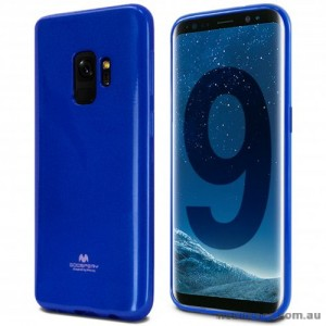 Mercury Pearl TPU Jelly Case for Samsung Galaxy S9 - Royal Blue
