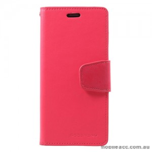 Mercury Goospery Sonata Diary Stand Wallet Case For Samsung Galaxy S9 - Hot Pink
