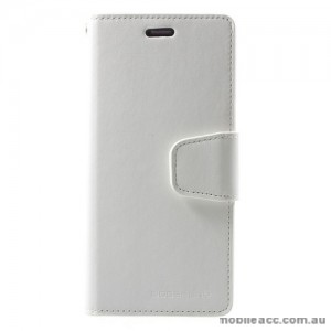 Mercury Goospery Sonata Diary Stand Wallet Case For Samsung Galaxy S9 - White