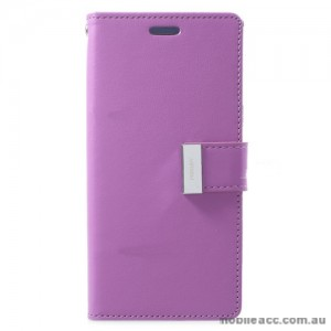 Mercury Rich Diary Wallet Case for Samsung Galaxy S9 - Purple