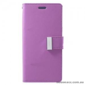 Mercury Rich Diary Wallet Case for Samsung Galaxy S9 - Purple