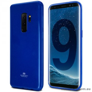 Mercury Pearl TPU Jelly Case for Samsung Galaxy S9 Plus - Royal Blue