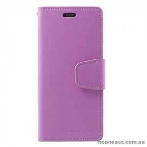 Mercury Goospery Sonata Diary Stand Wallet Case For Samsung Galaxy S9 Plus - Purple