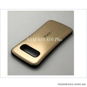 Iface mall  Anti-Shock Case  For Samsung  Galaxy  S10  6.1'' Gold