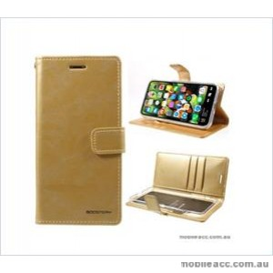 Korean Mercury Bluemoon Diary  Wallet Case For Samsung  Galaxy  S10 5G Gold