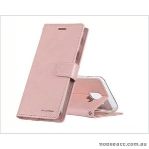 Korean Mercury Bluemoon Diary  Wallet Case For Samsung  Galaxy  S10 5G Rose Gold