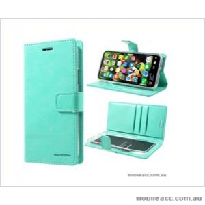 Korean Mercury Bluemoon Diary  Wallet Case For Samsung  Galaxy  S10 5G Mint Green