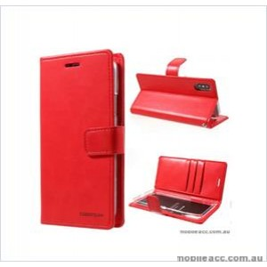 Korean Mercury Bluemoon Diary  Wallet Case For Samsung  Galaxy  S10 5G Red