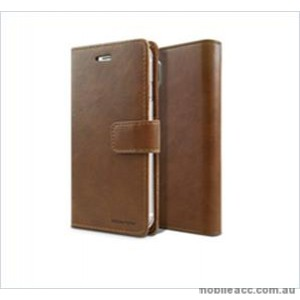 Korean Mercury Bluemoon Diary  Wallet Case For Samsung  Galaxy  S10 5G Brown