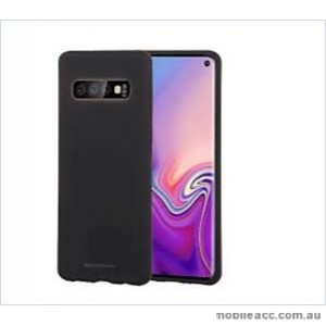 Korean Mercury  Soft  Feeling  Jelly Case For Samsung  Galaxy  S10 5G Black