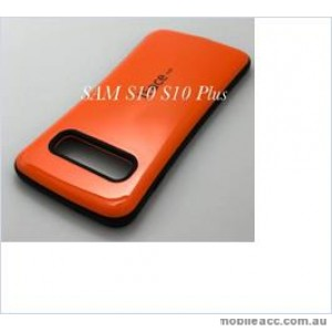 Iface mall  Anti-Shock Case  For Samsung  Galaxy  S10  Plus Orange