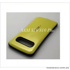 Iface mall  Anti-Shock Case  For Samsung  Galaxy  S10  Plus Yellow